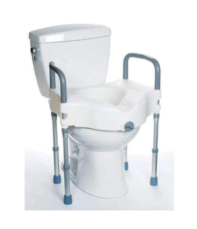 MOBB Healthcare Raised Toilet Seat with Legs MHRTSL