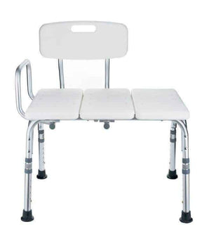 MOBB Healthcare Mobility Bathroom Transfer Bench with Back - Senior.com Bath Benches & Seats