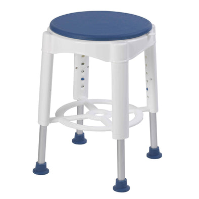 Drive Medical Bathroom Safety Swivel Seat Shower Stool - Senior.com Bath Benches & Seats