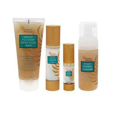 Firewheel Naturals Complete Anti-Aging Daily Care-Set of 4 - Senior.com Creams & Lotions