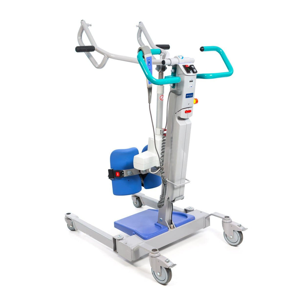 ArjoHuntleigh Sara 3000 Sit-to-Stand Caregiver Patient Lift - Senior.com Patient Lifts