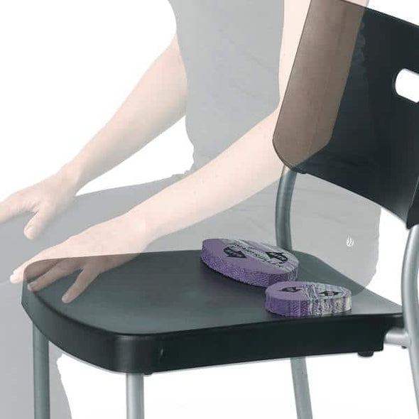 OPTP SMARTROLLER Sits - Foam Pads For Sitting, Yoga, & Meditation - Senior.com Yoga Products