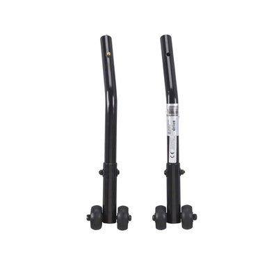 Drive Medical Cruiser III Anti Tippers with Wheels 1 Pair - Senior.com Wheelchair Parts & Accessories
