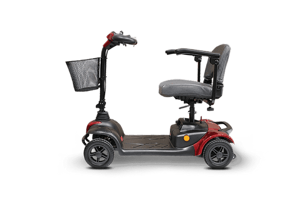 Ewheels Medical 4 Wheel Portable Travel Mobility Scooters - Senior.com Scooters