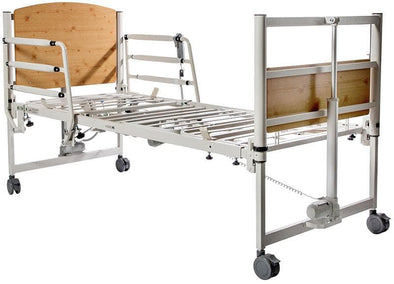 Harmony 8199 Full Electric Home Care Beds with Trendelenburg - Senior.com Bed Frames