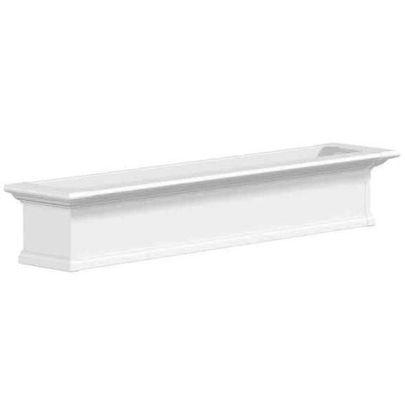 Mayne Yorkshire Window Box Planters - White 5 Foot