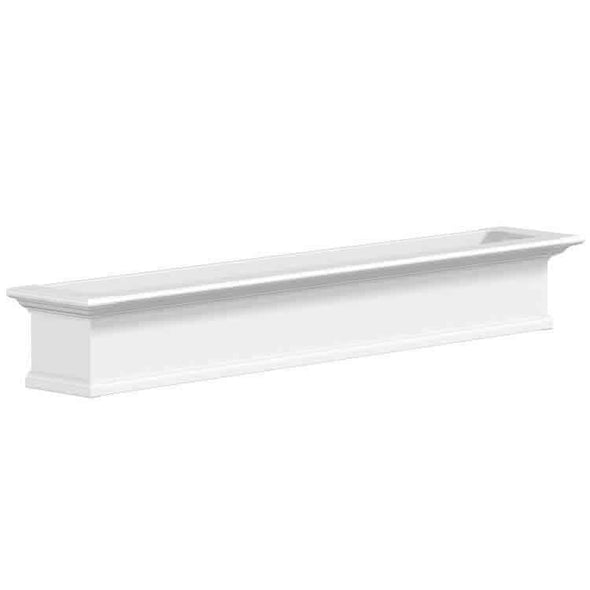 Mayne Yorkshire Window Box Planters - White 6 Foot
