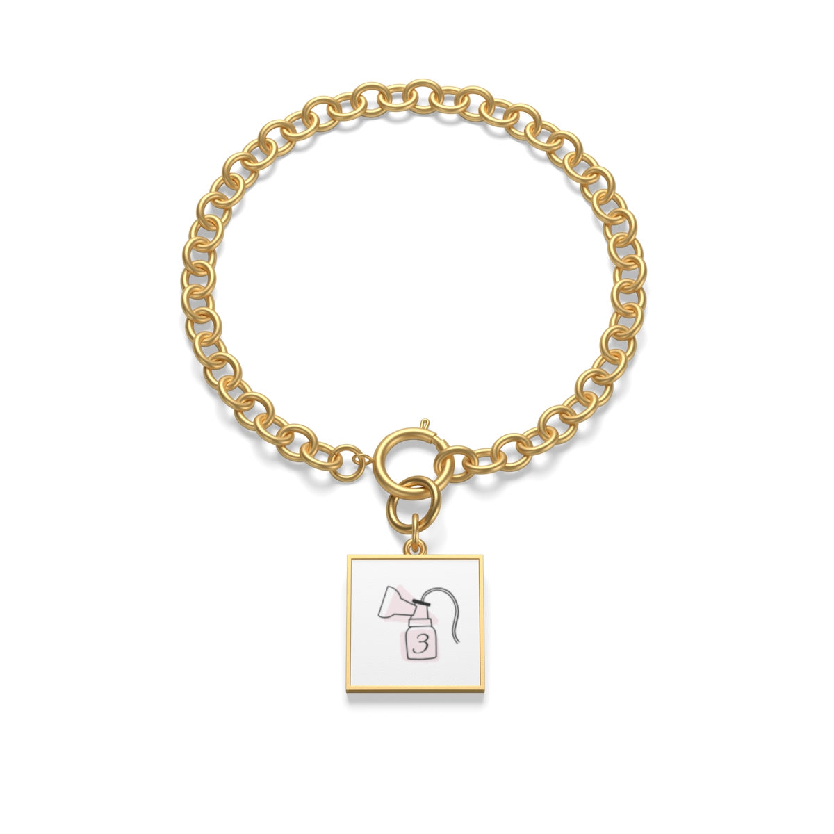 3 Months Exclusive Pumping Mom's Jewelry - Chunky Chain Bracelet