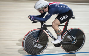 American Ashton Lambie Breaks Individual Pursuit World Record