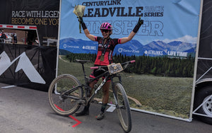 Larissa Connors Wins Second Consecutive Leadville 100 Mountain Bike Race