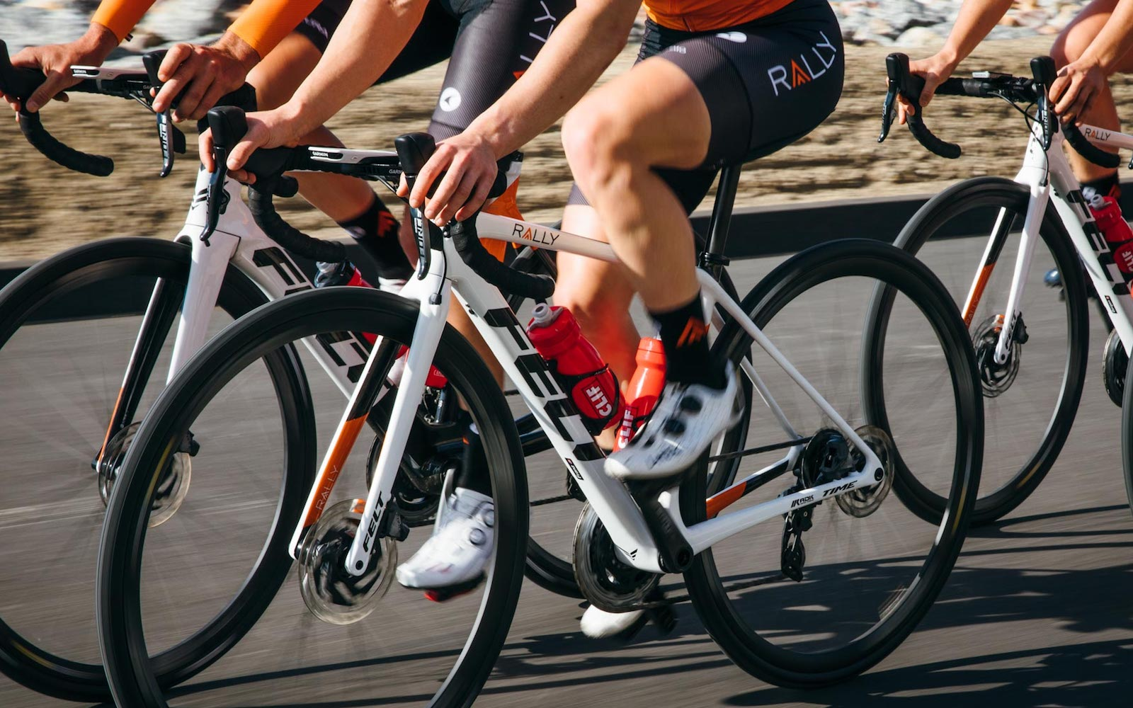 Gallery Check Out The Fr Road Race Bikes Of The Rally Cycling Pro Tea Felt Bicycles