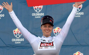 TWENTY20's Jennifer Valente Wins Sprint Jersey At Colorado Classic