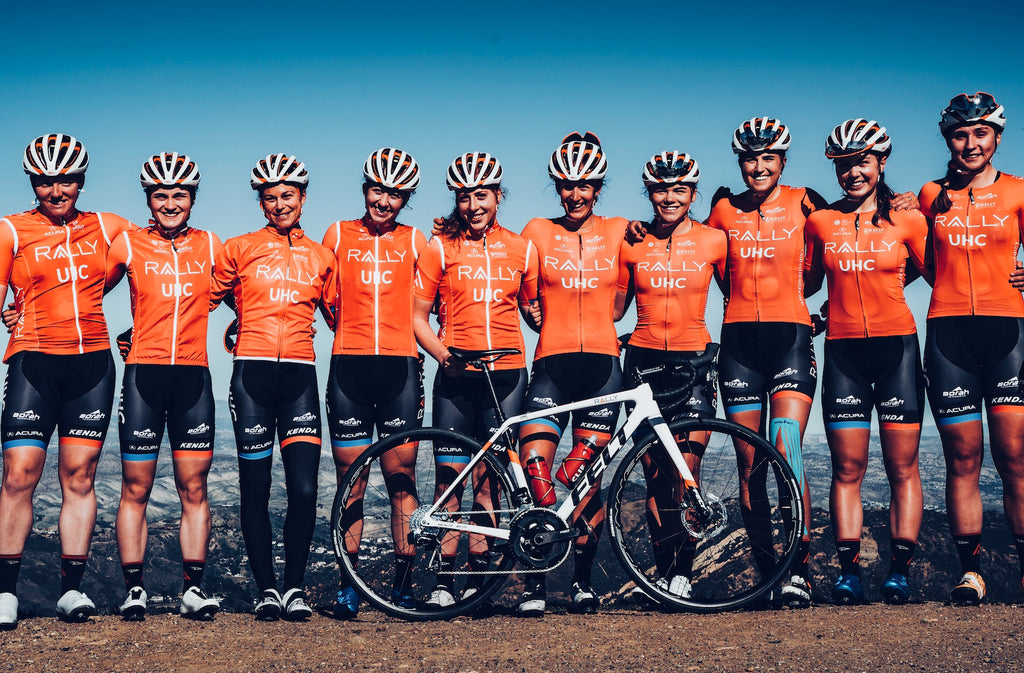 women's cycling team