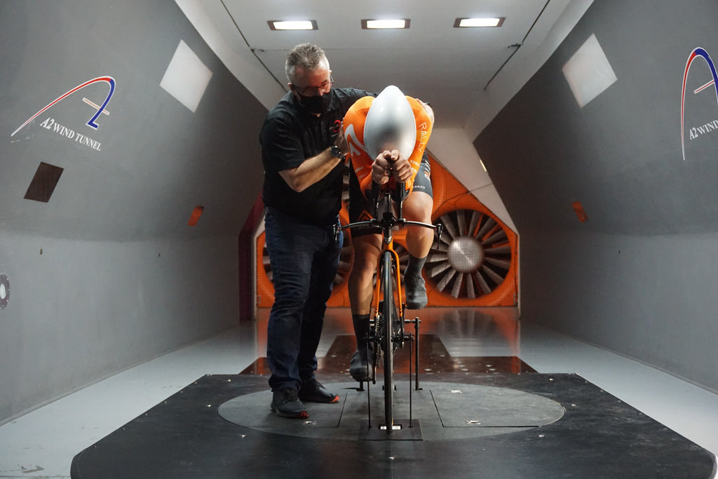 pro cyclist wind tunnel