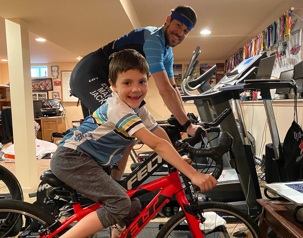 indoor cycling kids