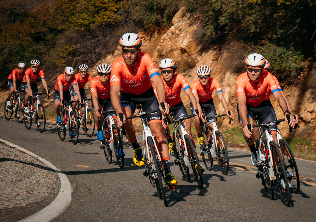 cycling group orange