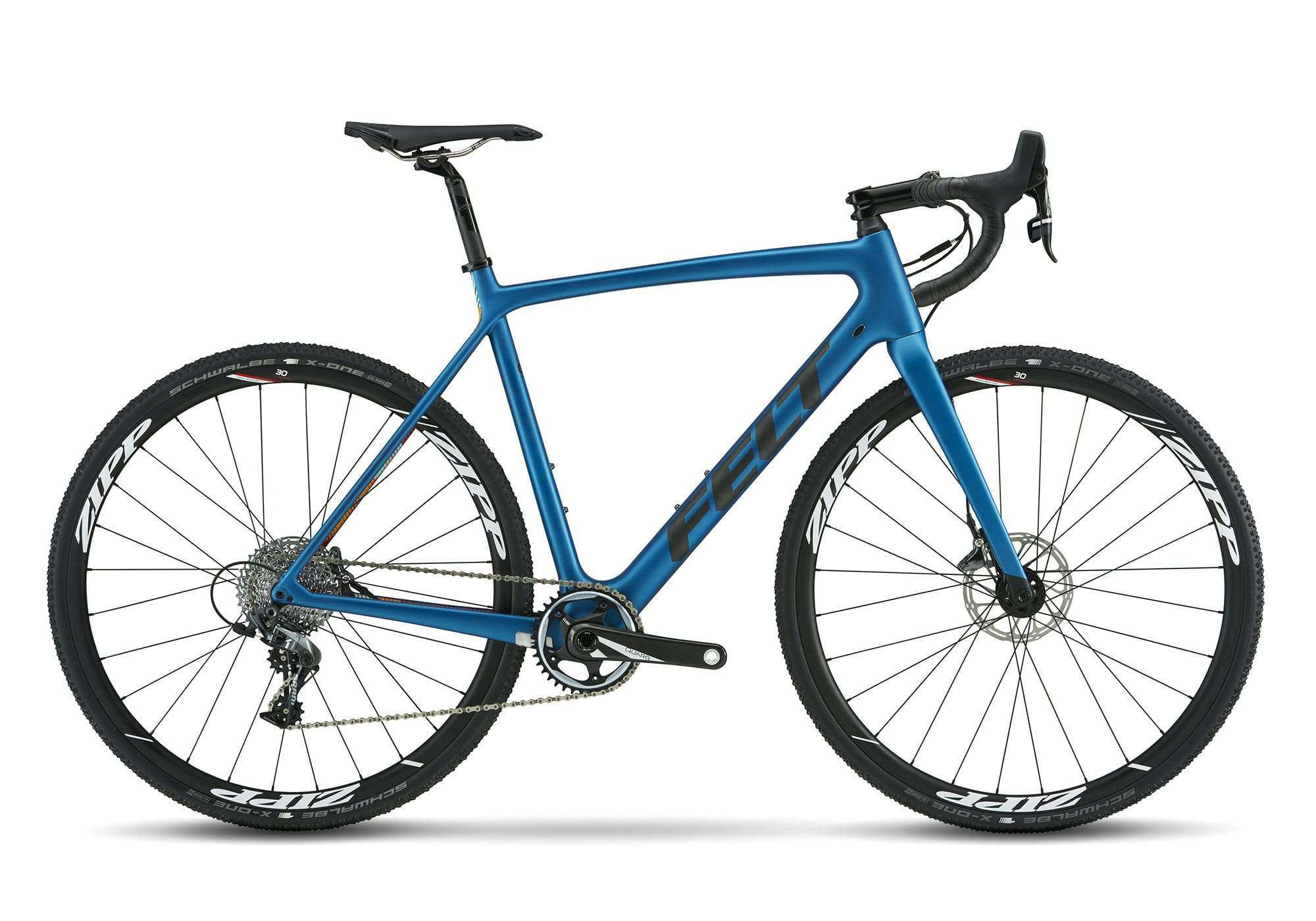 blue felt cyclocross bike