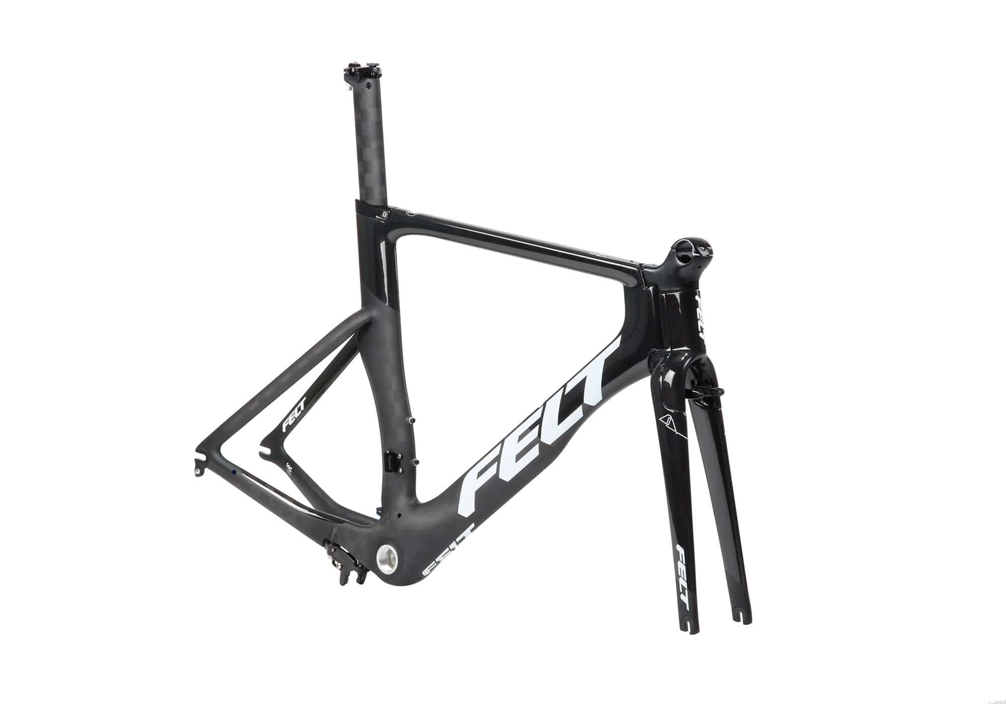 The Felt DA | Ultimate | Frame in Matte Textreme (White & Charcoal)