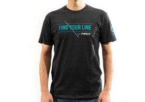 """Find Your Line"" T 