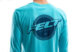 Felt Tahiti Blue LS T-Shirt | Men's