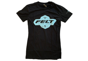 Felt Brand Black T-Shirt | Women's