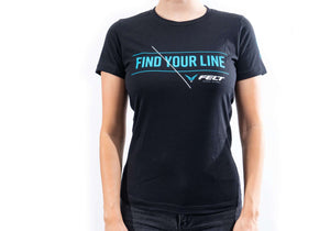 """Find Your Line"" T-Shirt 
