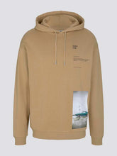 Laden Sie das Bild in den Galerie-Viewer, Hoodie mit Fotoprint Tom Tailor