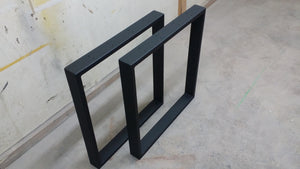 Steel Counter Height Table Legs - Custom Sizing Available