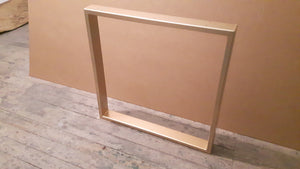 Gold Steel Table Legs