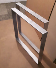 Silver dining table legs