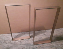 Copper Coloured Metal Table Legs