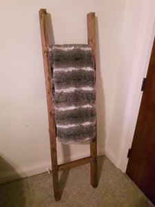 Blanket Ladder - Rustic Decor Ladder