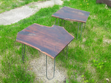 Live Edge Walnut Side Tables