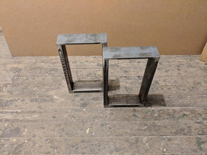Raw Steel Coffee Table Legs