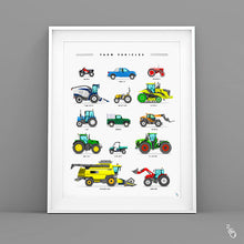 Load image into Gallery viewer, Tractor art print
