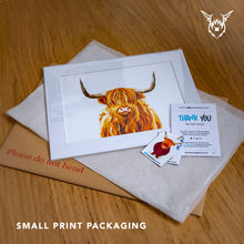 Load image into Gallery viewer, Highland cow artist