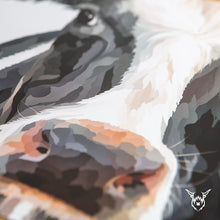 Load image into Gallery viewer, Dairy cow print