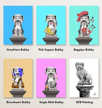 Load image into Gallery viewer, Greyfriars bobby art