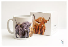 Load image into Gallery viewer, Highland cow mug