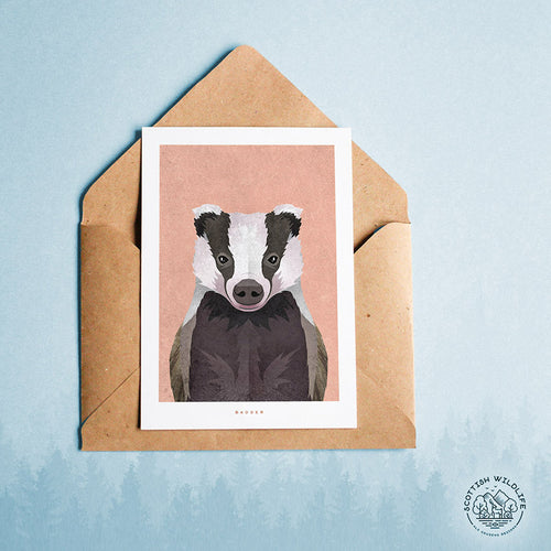 badger card note