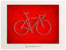 Load image into Gallery viewer, Bicycle art print