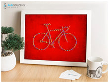 Load image into Gallery viewer, Cycling art print