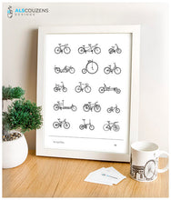 Load image into Gallery viewer, Bicycle poster