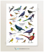 Load image into Gallery viewer, Garden birds print