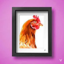 Load image into Gallery viewer, Chicken art print