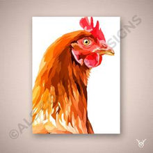 Load image into Gallery viewer, Chicken painting