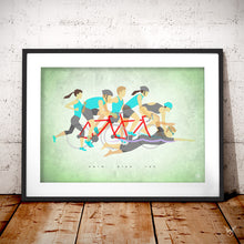 Load image into Gallery viewer, Triathlon poster gift