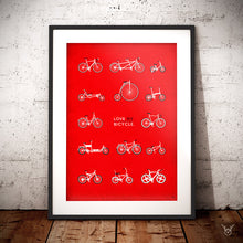 Load image into Gallery viewer, Bike art print