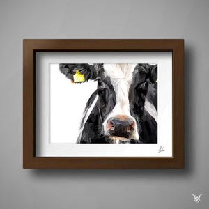 Dairy Cow Painting