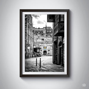 Edinburgh black & white photography